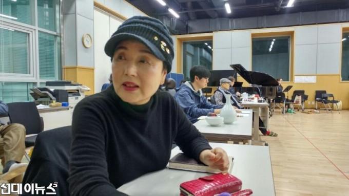서울 장충동 국립극장 연습실에서-김성녀 예술감독 님.jpg