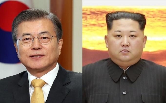 2018년 남북정상회담. 문재인·김정은 두 정상.jpg