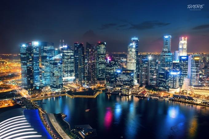 싱가폴의 야경(夜景).jpg