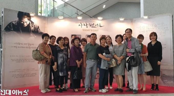 [사랑했어요] 공연 관람한 북한 이탈 주민들(제공.호박덩쿨, 오스텔라0.jpg