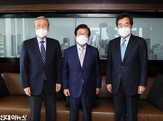 박병석 국회의장, 교섭단체 당대표와 오찬회동11111.jpg