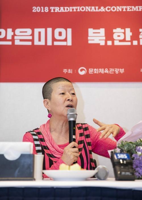 """안은미 """"금기로 여겨진 북한 무용을 재조명하고 싶었다"""""""