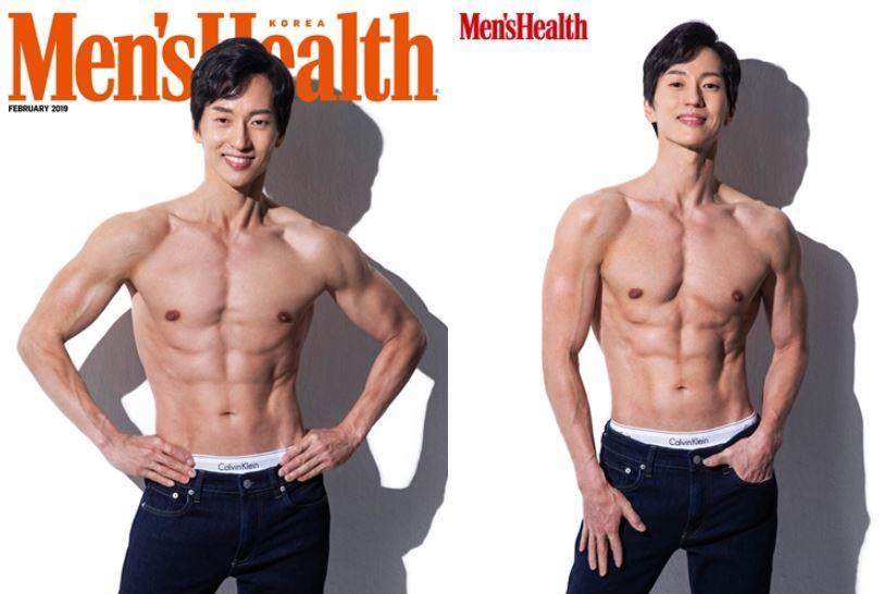 뮤지컬 배우 마이클 리, 맨즈헬스 2월호 표지 장식