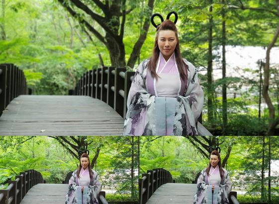 '계룡선녀전' 정영주, 왕초 선녀 첫 등장
