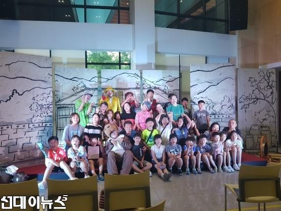 한강문화관,'지역소외계층과 함께하는 행복한 11월'사회공헌행사 개최 ⁂ 다문화어린이, 장애인 초청 세종합창단, 다누리합창단, 대진국제자원봉사단 공연열려.