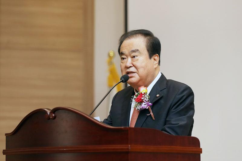 문희상 국회의장, 한국여성정치연맹 창립 제29주년 참석