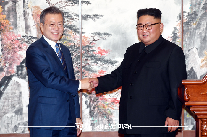 """정의용 실장 """"군사합의는 사실상 남북 불가침 합의"""""""