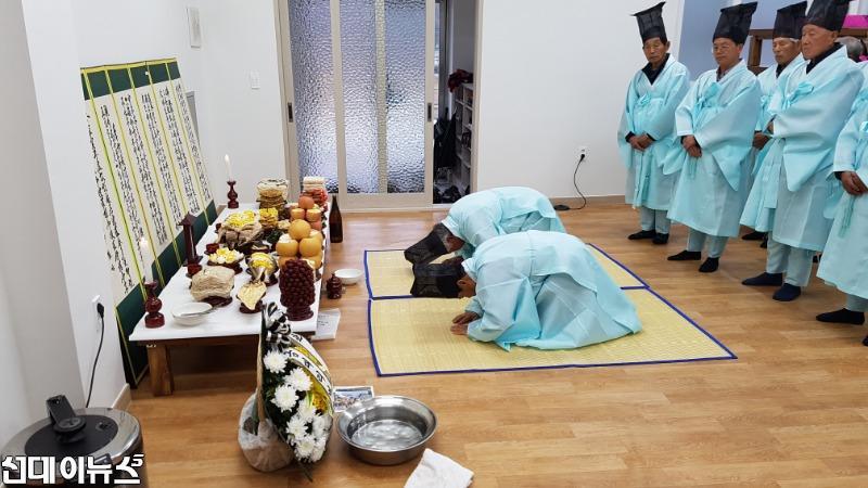 서원면 금대리 의병총 제례 행사 개최