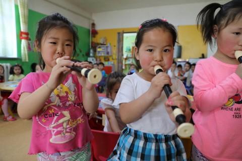 엔젤악기, 저개발국가 어린이들 위해 함께하는 사랑밭에 교육용 악기 후원
