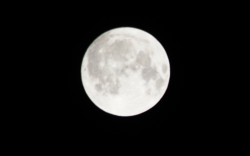 [SNS포토]한가위 보름달