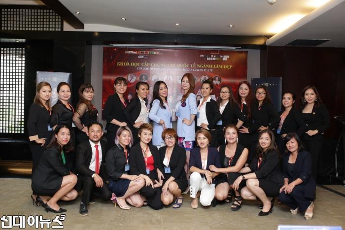 IBQC, 전지현 강사 강의 열어...'반영구화장 국제뷰티자격시험' 시행해