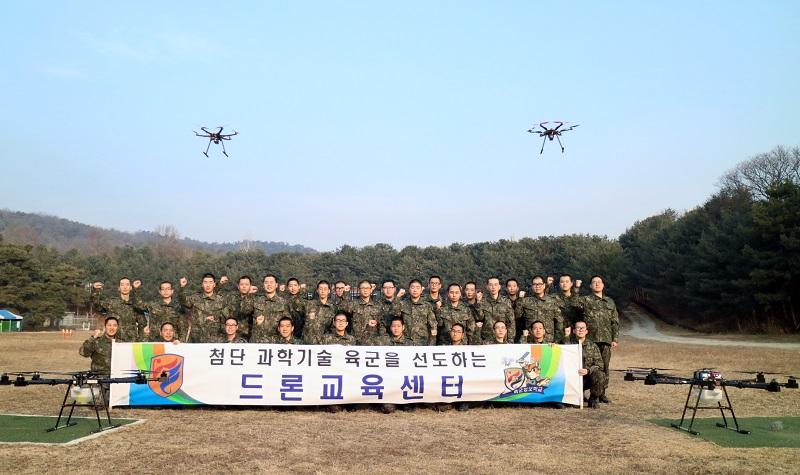 정보학교, 육군 첫'드론운용/정비 특기병'배출