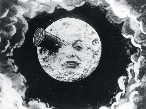 [마스터피스 무비] - 3 '달세계 여행(1902)' , 마술사가 보여준 최초의 SF 판타지.