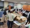 거제시, 코로나 19 대응 어린이집 방역물품 전달