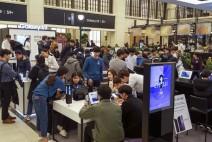 삼성전자, '갤럭시 S9'·'갤럭시 S9+' 사전 체험존 성황