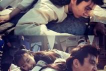 유웨이, 중국 드라마 '친애적약왕대인' 촬영장 사진 공개
