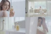안젤리나 다닐로바, 완벽 미모 광고 영상 공개