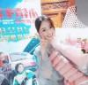 장육위, 영화 '소진차신' 시사회 참석...꽃을 든 여신