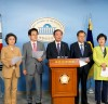 """""""민주평화당 패스트트랙 관련 긴급 기자회견"""""""