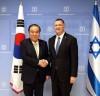 문희상 국회의장, 이스라엘 율리 에델스타인 국회의장과 면담 가져