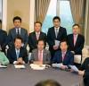 [SNS포토]'드루킹 사건' 자유한국당-바른미래당-민주평화당 긴급회동