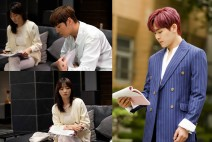 '보고 또 보고', 최진혁·송하윤·이호원, 대본 삼매경에 빠지다