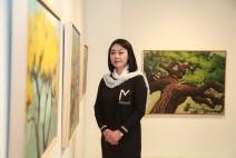 서양화가 조경, 행복한 기운 전달하는 '소나무 그리고 희망' 개인전 개최