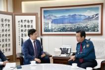 박찬대 의원, 인천지방경찰청장 만나 청소년 범죄 대책 촉구