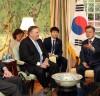 문재인 대통령, 폼페이오 국무장관과 존 볼튼... '한반도의 비핵화와 항구적 평화 정착'