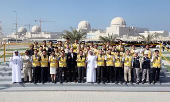 문희상 국회의장, UAE 바라카 한국형원전 건설 근로자 격려 방문
