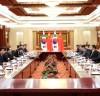 문희상 의장, 리잔수 中 전인대 상무위원장 면담 및 만찬 참석