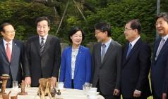 [SNS포토]추미애 대표,고위당정협의회 참석