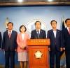자유한국당 쌀 목표가격 관련 성명서 발표 기자회견
