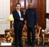 정세균 의장 인도 공식방문, 코빈드 대통령 면담