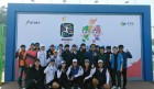 이천시청 정구팀 2018 제99회 전국체육대회 단체전 금메달 획득