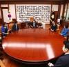 박병석 국회의장, 민주당 초·재선 의원 모임 '일맥상통' 예방 받아