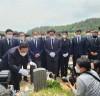 송석준 의원, 5·18 민주화운동 40주기 맞아 5·18 민주묘지 참배