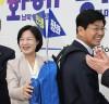[SNS포토]더불어민주당,'충청권 광역단체장 후보자' 민생배낭 전달
