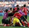 '1% 기적' 도전한 한국...세계 랭킹 1위 독일 꺾은 한국
