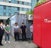 이용빈 의원, 코로나19 비대면 선별진료소 도입 현장 시설점검