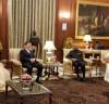 인도에서의 마지막 밤, 대통령궁에서의 국빈 만찬