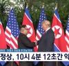 트럼프 대통령과 김정은 위원장 서명 공동합의문 전문