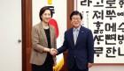 박병석 국회의장, 유은혜 사회부총리 겸 교육부 장관 예방 받아