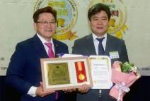 골목상권살리기소비자연맹 안양시지부 김인환 회장 '지역사회지도자 부문' 대상 수상