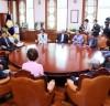 """헌정회 회장단, """"박병석 의장께서 정치 지도자로서 서로 다름을 인정하는 좋은 정치를 만들어주실거라 믿는다"""""""