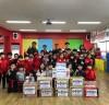 GnB영어학원·라온태권도장, 오학동주민센터에 쌀,라면 전달