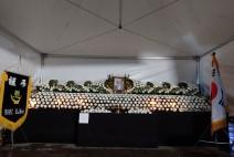 """""""故 백선엽 장군의 명목을 빈다. 김소연 변호사· 전대협 젊은 청년들이 장례식장을 지킨다"""