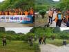 광양소방서 동부의용소방대 코로나19 대응 농촌일손돕기 펼쳐