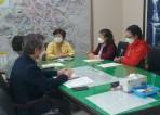 적십자 봉사회 임원진과의 간담회 개최