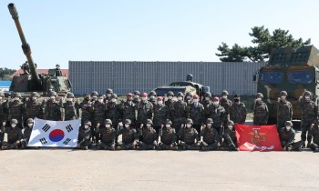 """귀신잡는 해병대, """"평화는 튼튼한 안보가 전제되어야, 박병석 국회의장 방문"""""""